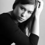 Studiofoto van Tessa in Bedum