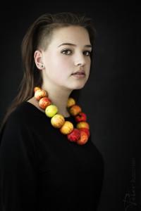 Larahna in de fotostudio