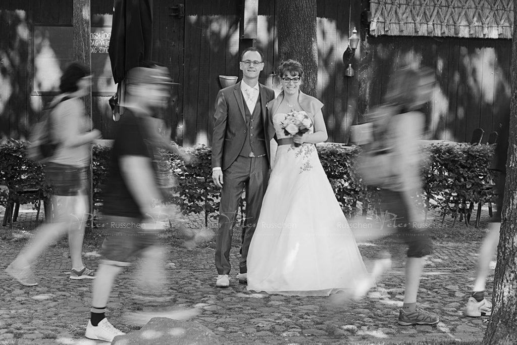 Bruidspaar in Drenthe, Orvelte